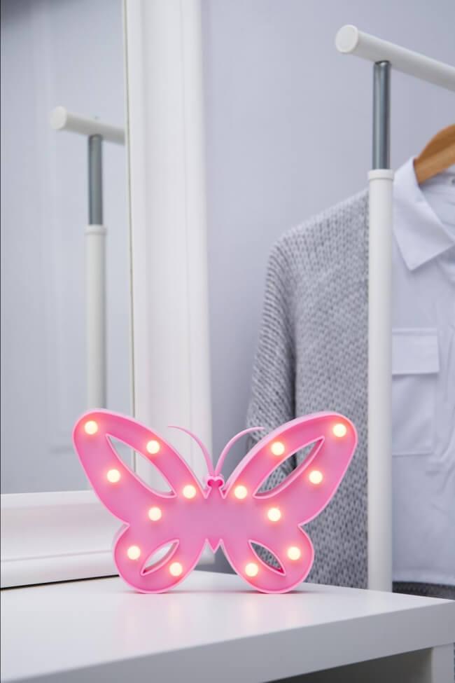 Led Διακοσμητικό Φωτιστικό Butterfly