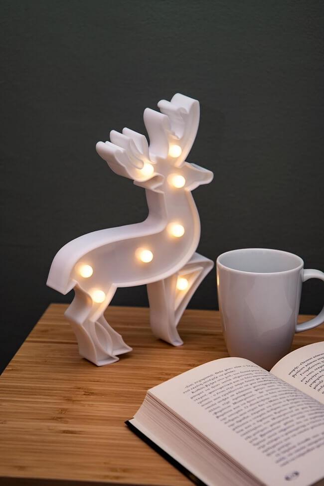 Led Διακοσμητικό Φωτιστικό Deer