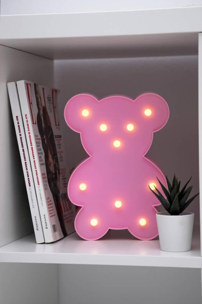 Led Διακοσμητικό Φωτιστικό Little Bear