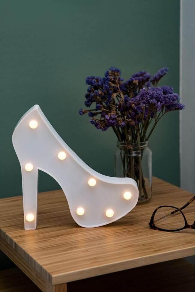 Led Διακοσμητικό Φωτιστικό Shoes