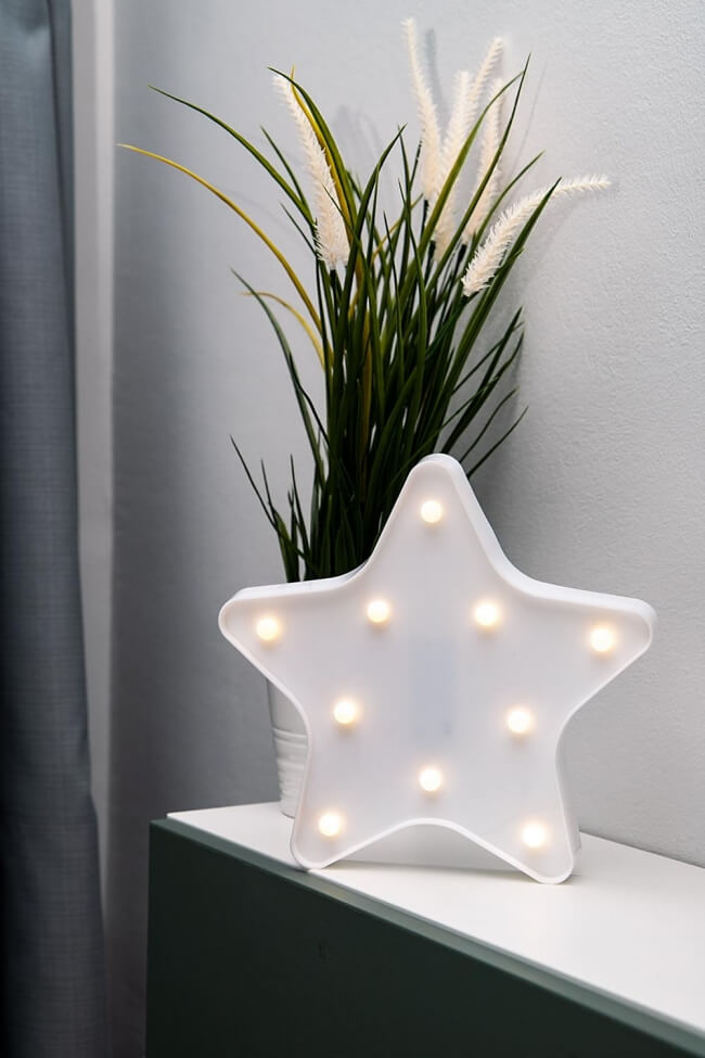 Led Διακοσμητικό Φωτιστικό Star