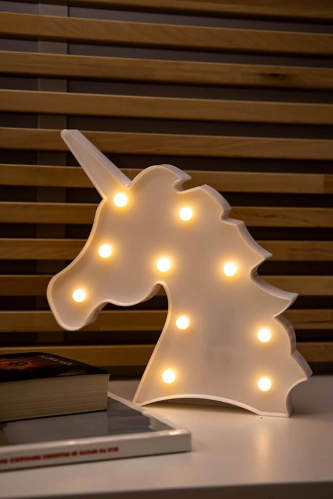 Led Διακοσμητικό Φωτιστικό Unicorn