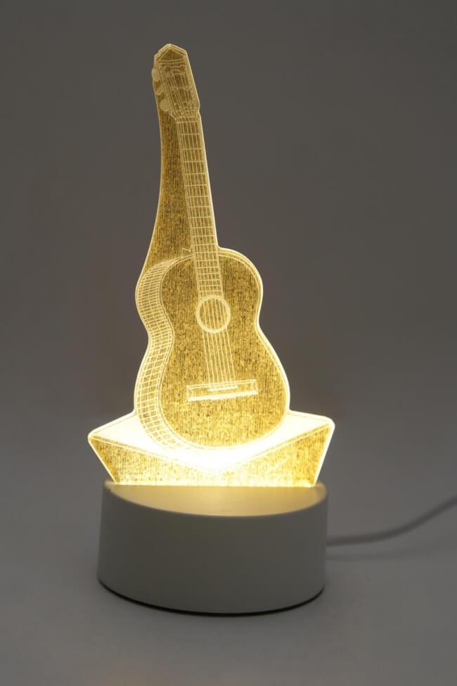 Led Φωτιστικό Guitar