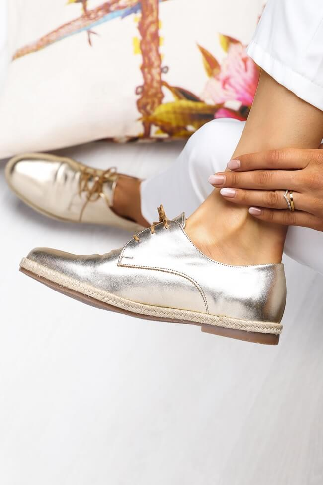 LUIGI DESIGN - Δερμάτινα Δετά Παπούτσια