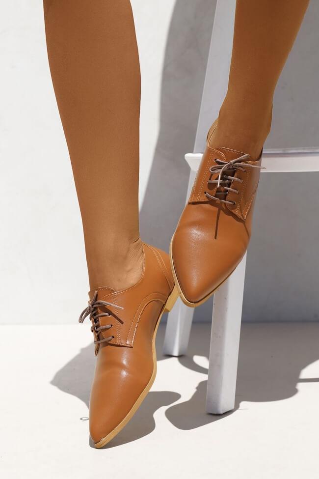 LUIGI DESIGN - Δετά Παπούτσια Μυτερά
