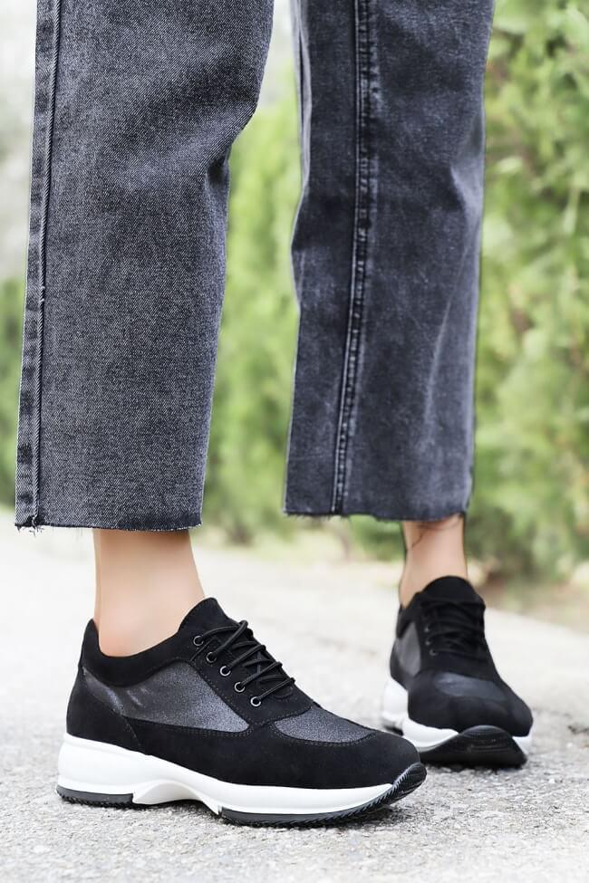 LUIGI DESIGN - Sneakers Καστόρ με Glitter
