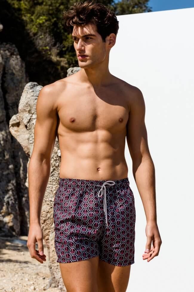 Μαγιό Ανδρικό Shorts Anchor Slim Fit