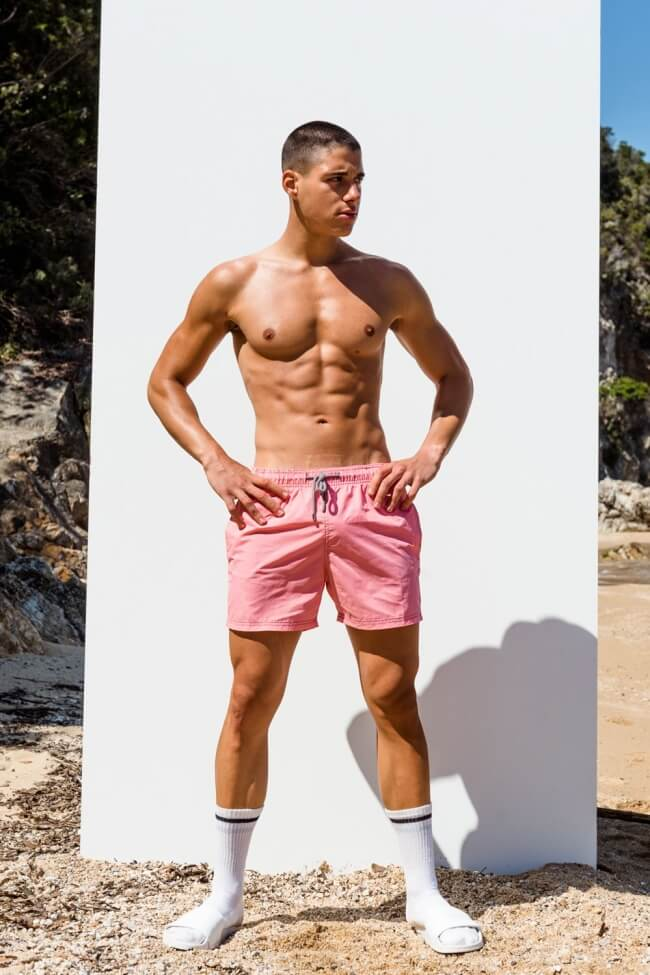 Μαγιό Ανδρικό Shorts Μονόχρωμο