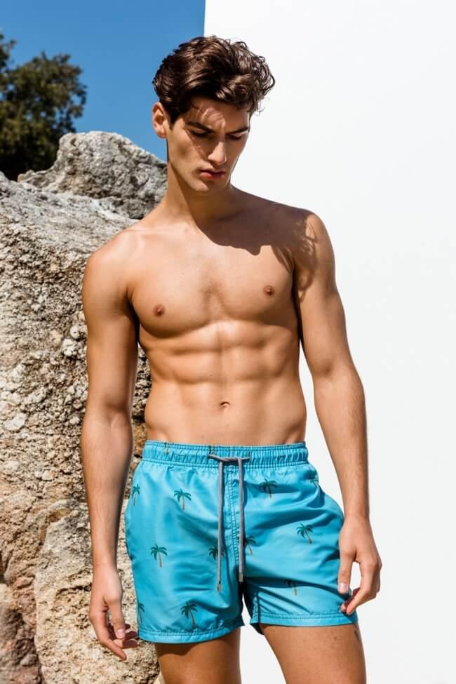 Μαγιό Ανδρικό Shorts Tropical Slim Fit