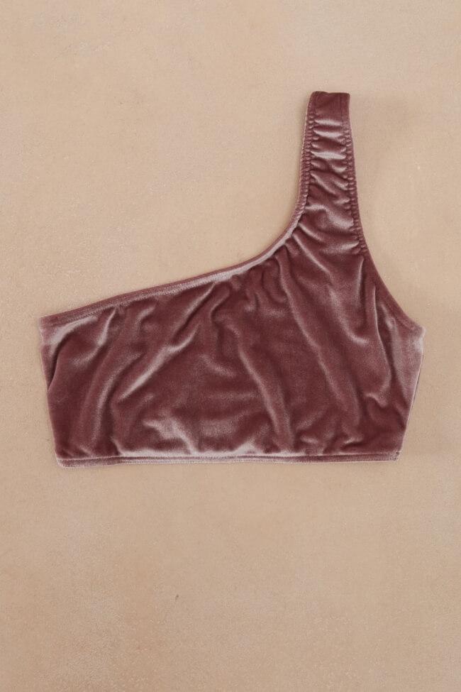 Μαγιό Τοπ Strapless Velvet Plus Size