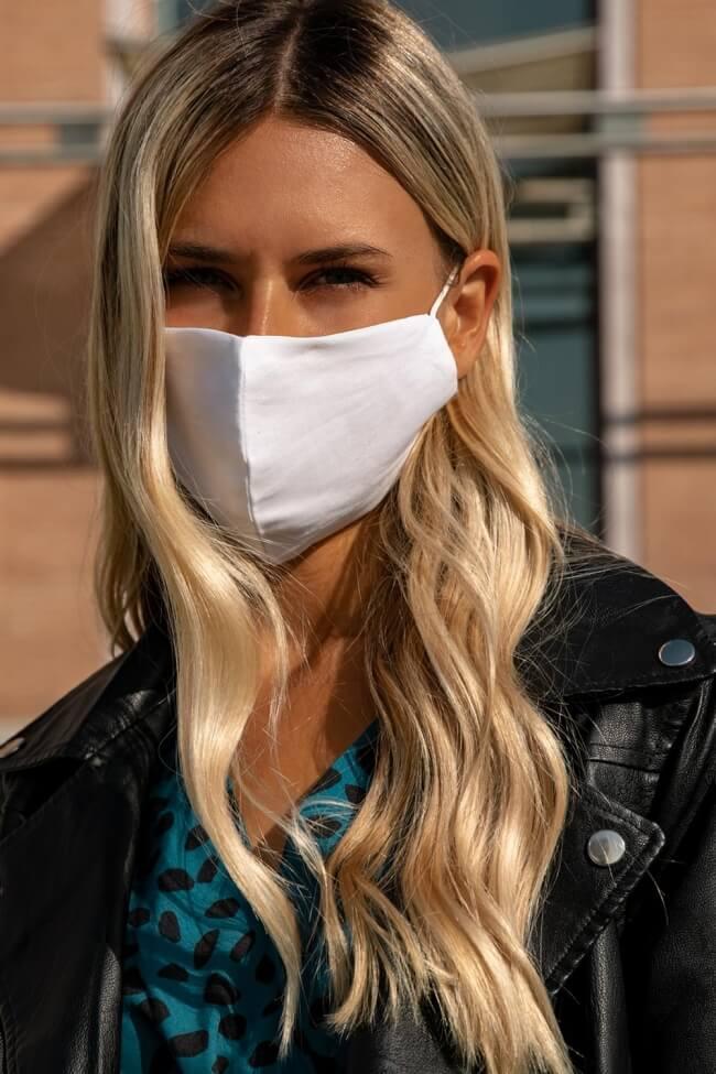 Μάσκα Πολλαπλών Χρήσεων Υφασμάτινη Μονοχρώμη