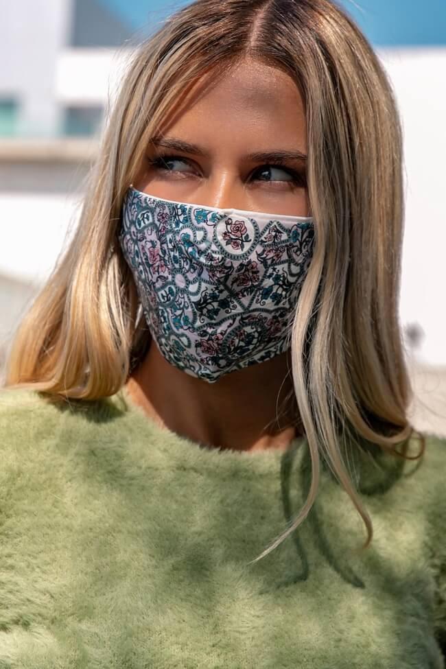 Μάσκα Πολλαπλών Χρήσεων Υφασμάτινη Μοτίβο