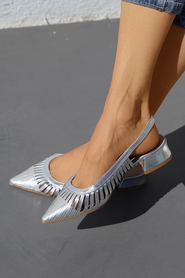 Μπαλαρίνες Μυτερές Open Heel
