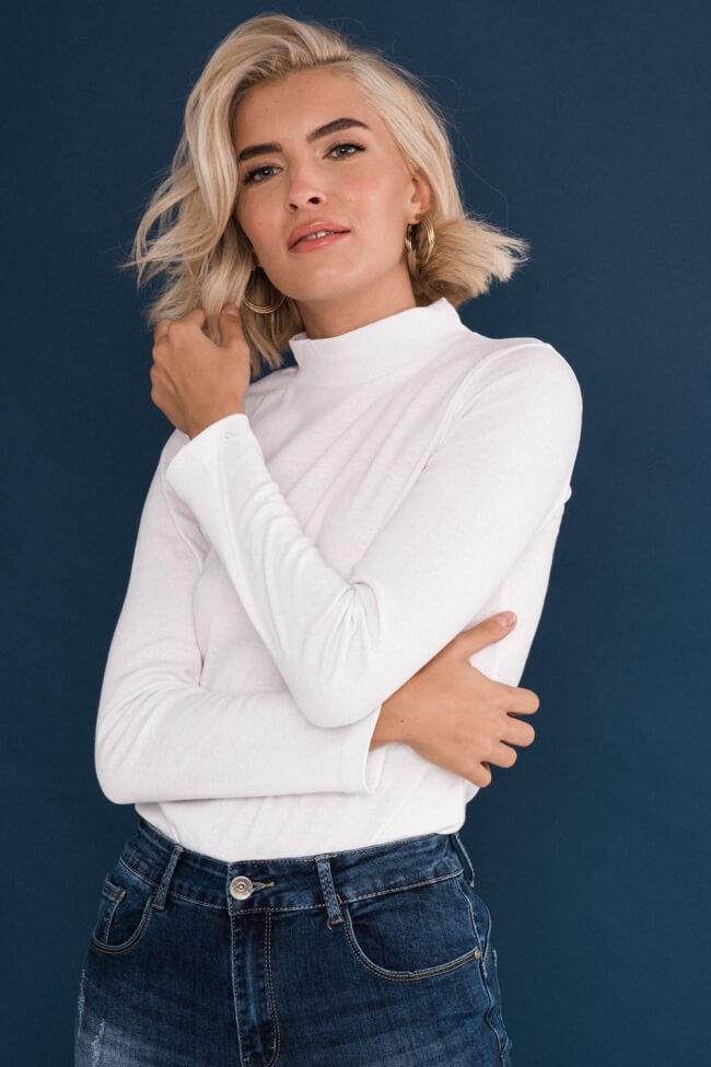 Μπλούζα Basic Μονόχρωμη