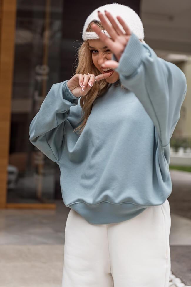 Μπλούζα Crop με Λάστιχο Oversized