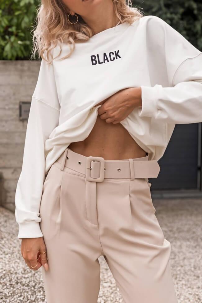 Μπλούζα Φούτερ BLACK