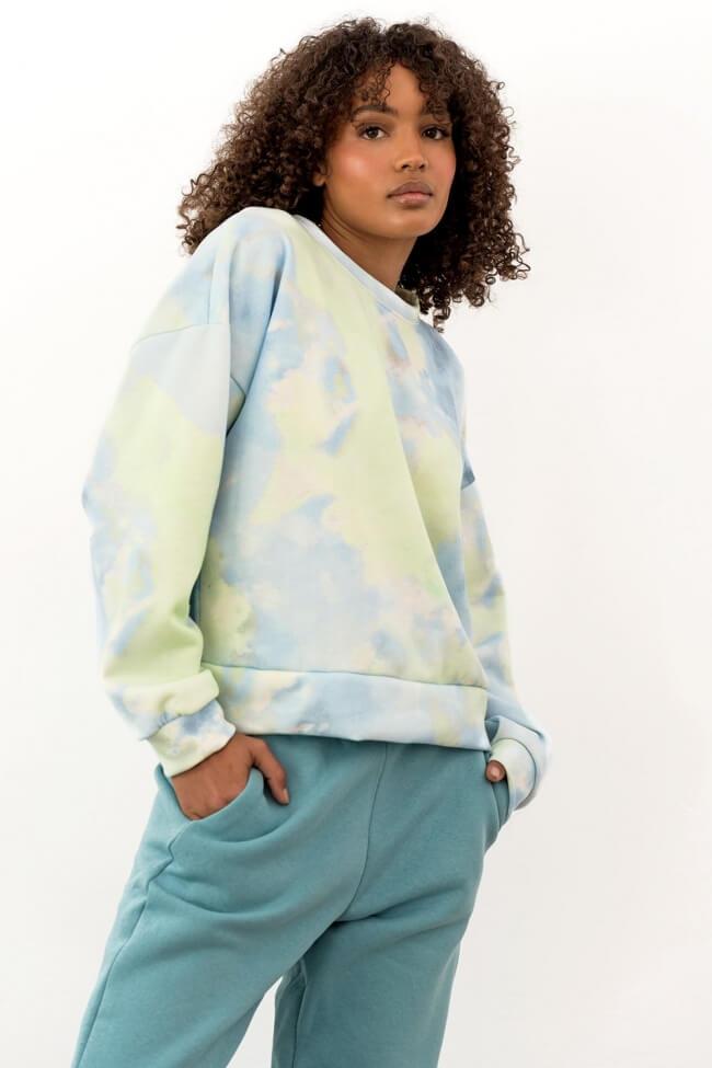 Μπλούζα Φούτερ Tie Dye