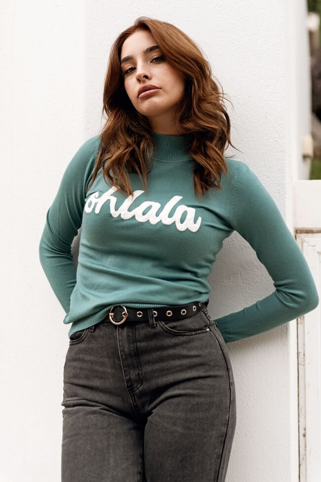 Μπλούζα Μάλλινη Ohlala