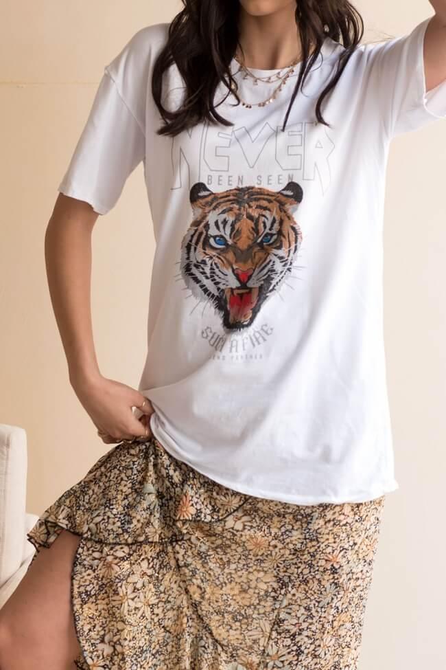 Μπλούζα Oversized Tiger