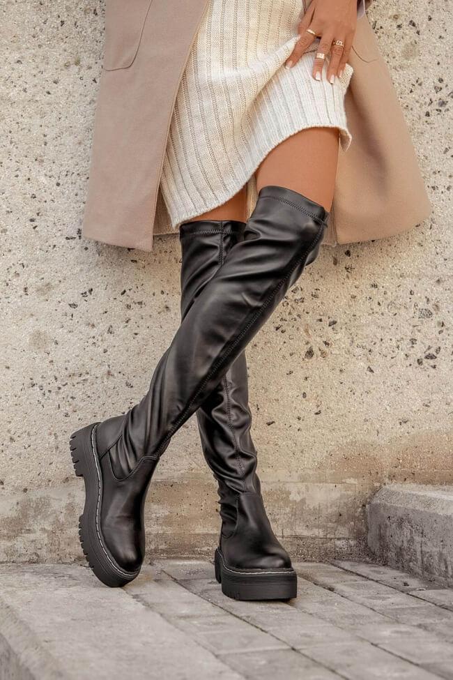 Μπότες Δίσολες Over the Knee