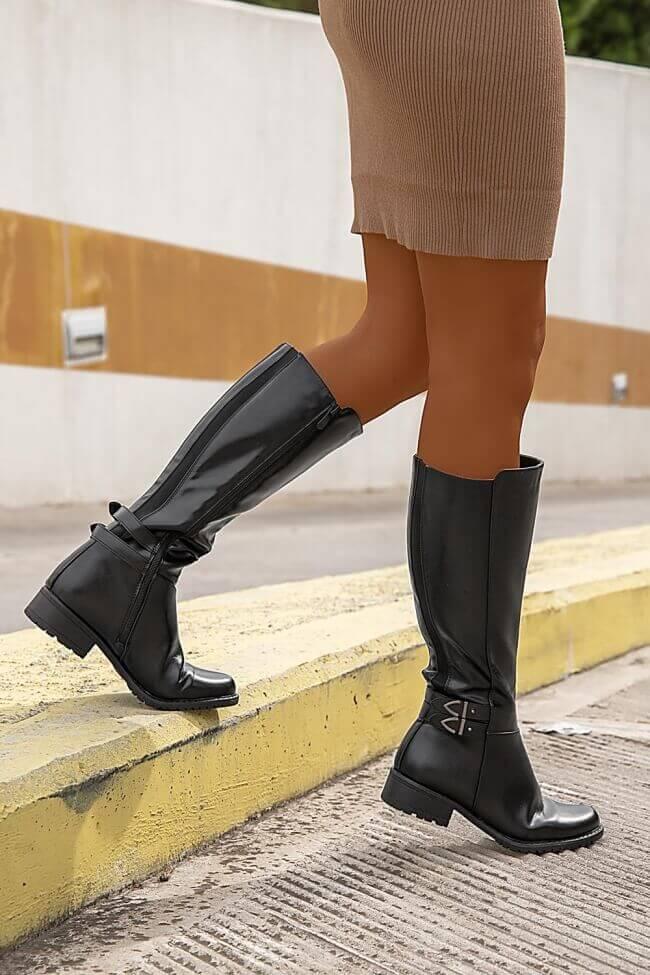 Μπότες Ιππασίας με Λουράκια