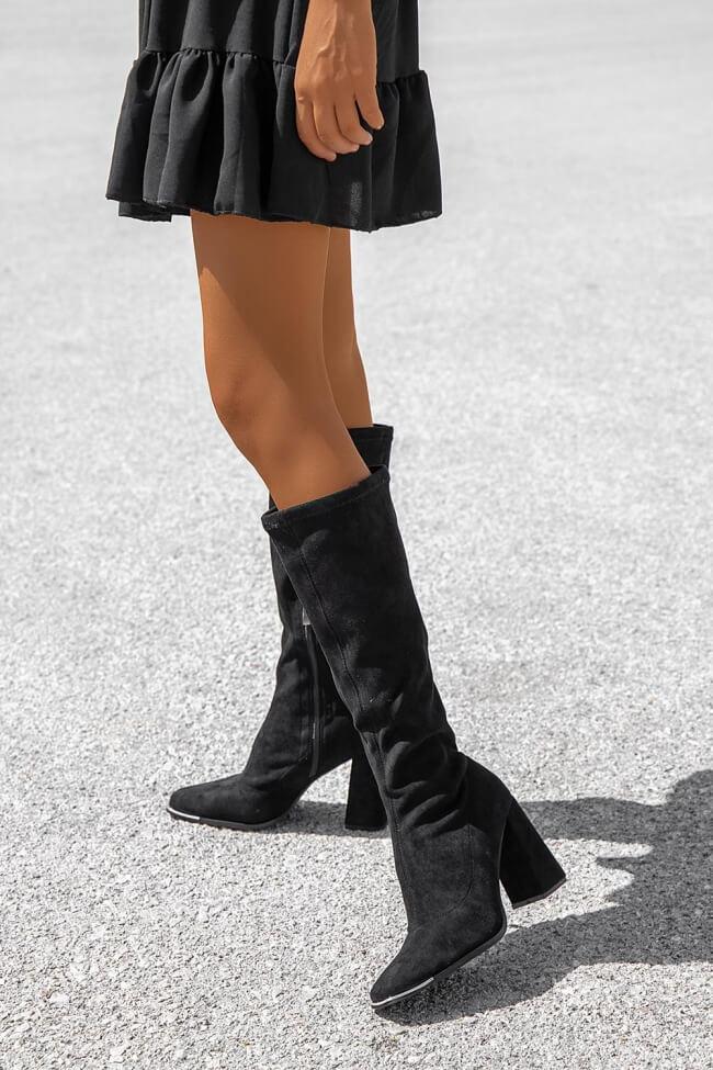 Μπότες με Τετράγωνη Μύτη