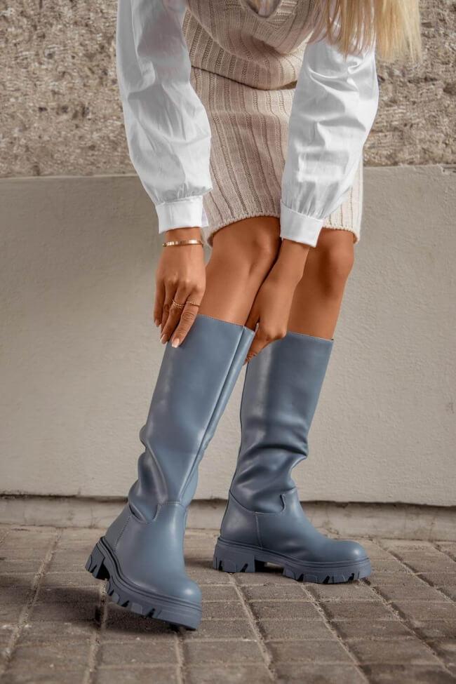 Μπότες με Τρακτερωτή Σόλα