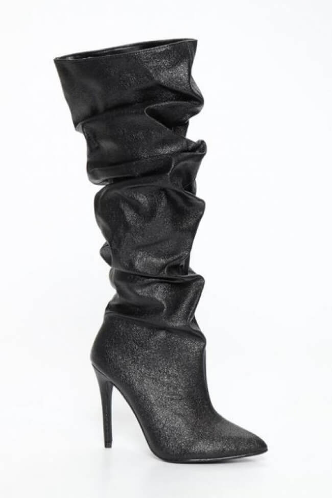 Μπότες Μυτερές με Σούρα