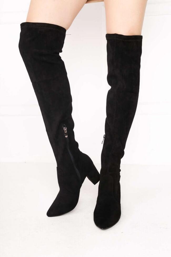 Μπότες Over the Knee Μυτερές
