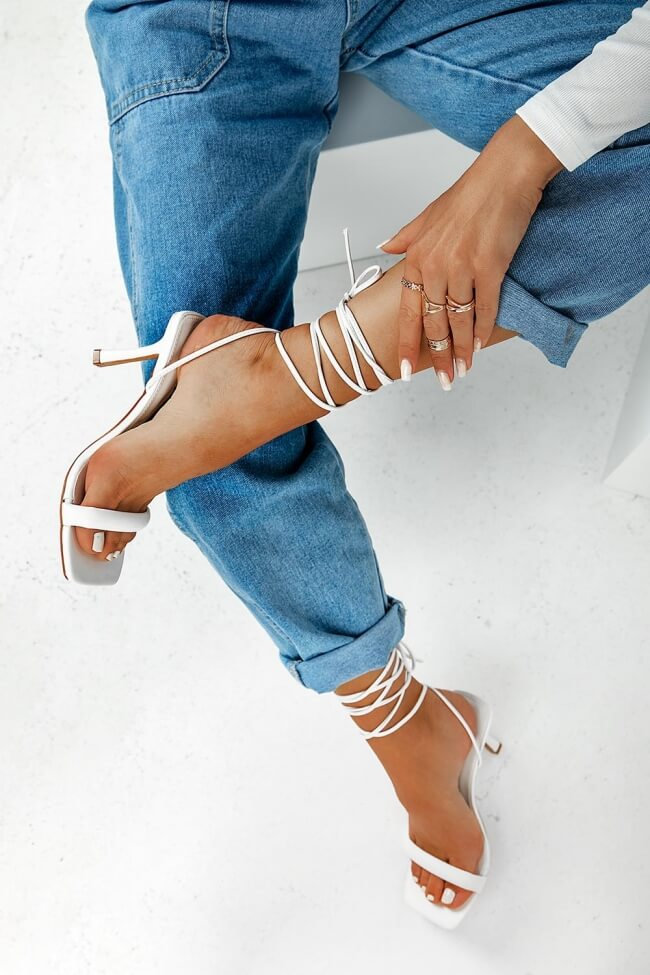 Mules Lace Up