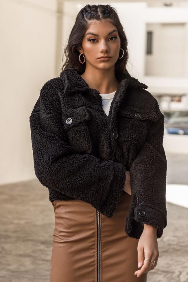 Παλτό Teddy