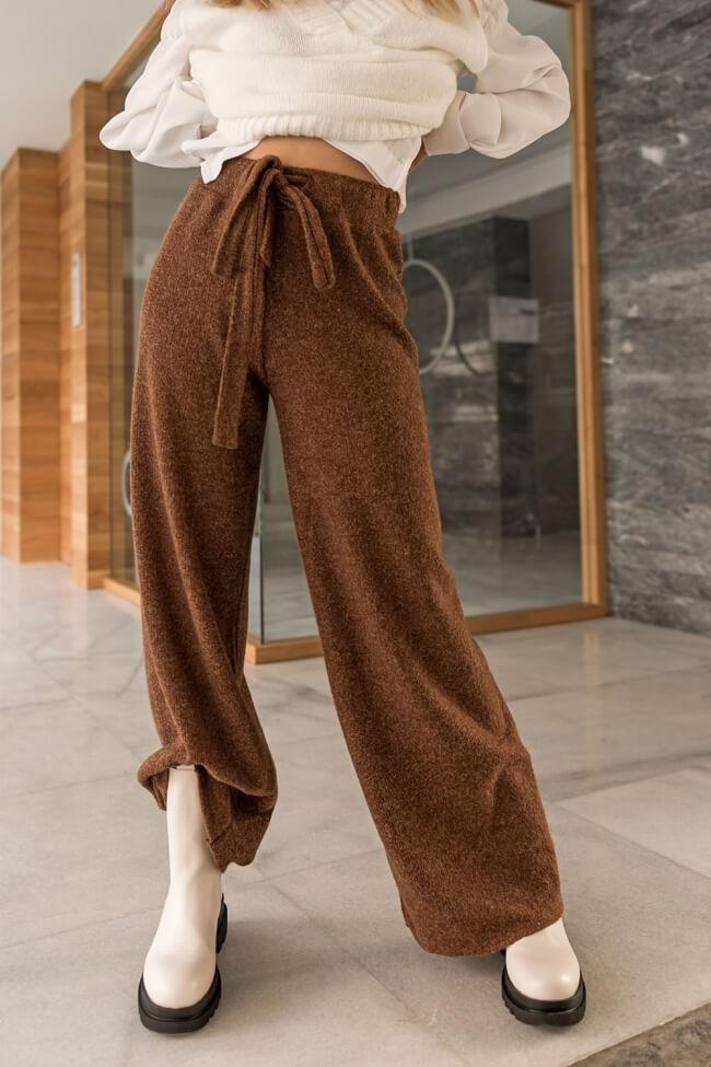 Παντελόνα Καμπάνα με Ζωνάκι
