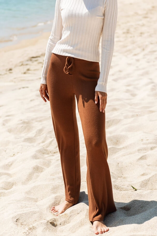 Παντελόνα Ριπ Straight  με Λάστιχο
