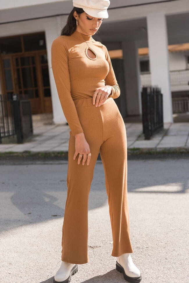 Παντελόνα Ripped Καμπάνα