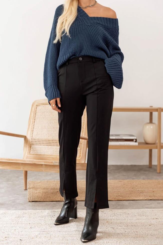 Παντελόνι Ελαστικό με Ανοίγματα Κάτω