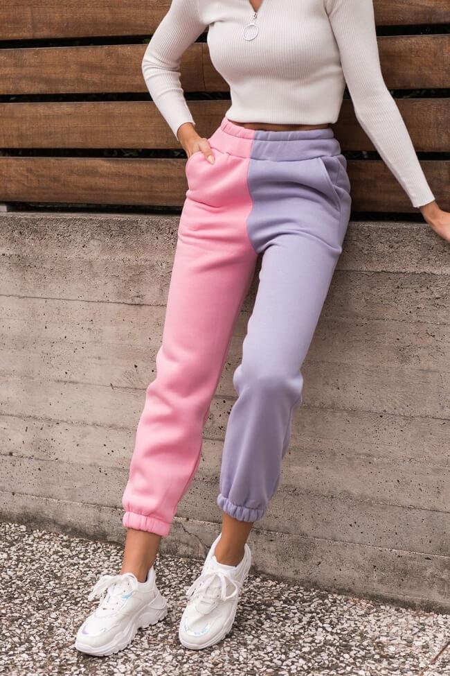Παντελόνι Φόρμα Double Colour