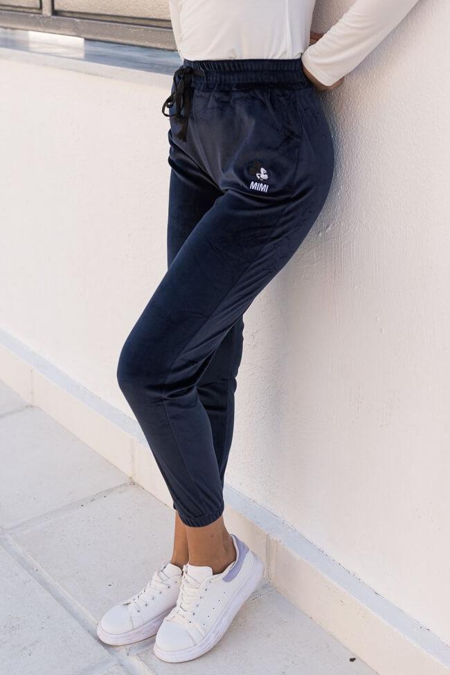 Παντελόνι Φόρμα με Λάστιχο Velvet