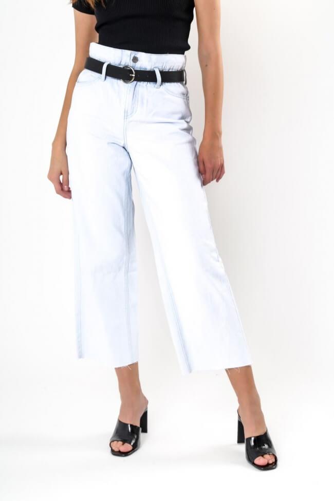 Παντελόνι Jean με Λάστιχο & Ζώνη