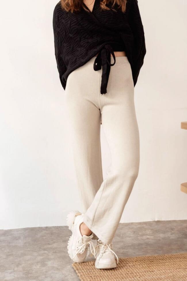 Παντελόνι Ψηλόμεσο Zip Cullote