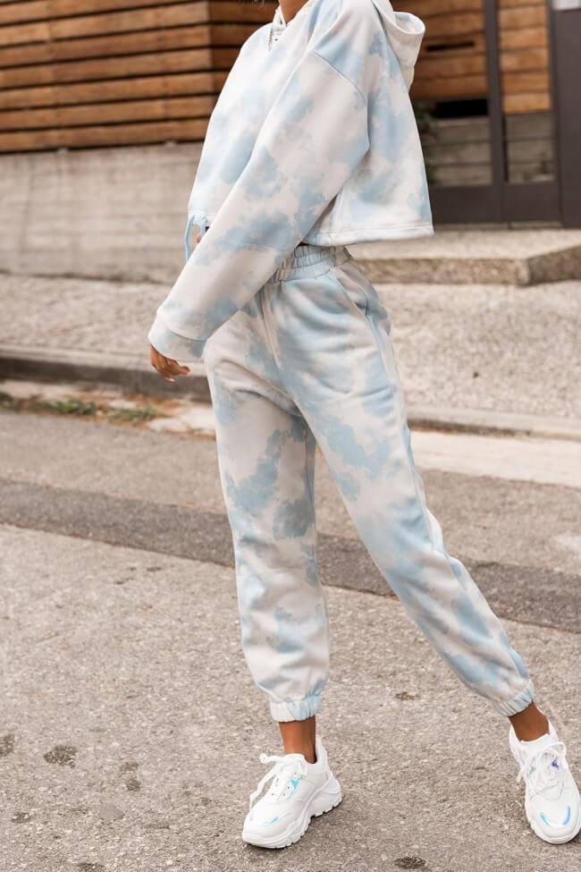 Παντελόνι Tie Dye Φόρμα με Λάστιχο