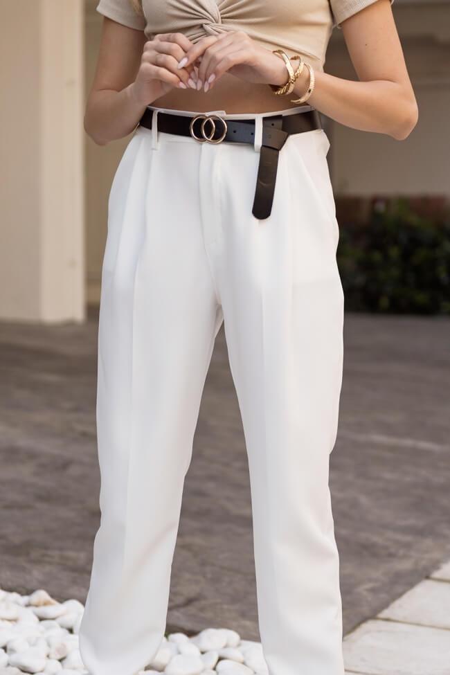Παντελόνι Υφασμάτινο με Ζωνάκι