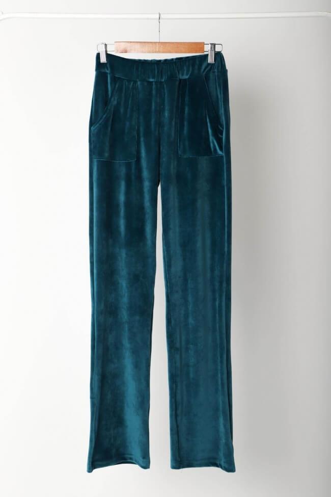 Παντελόνι Velvet με Τσέπες