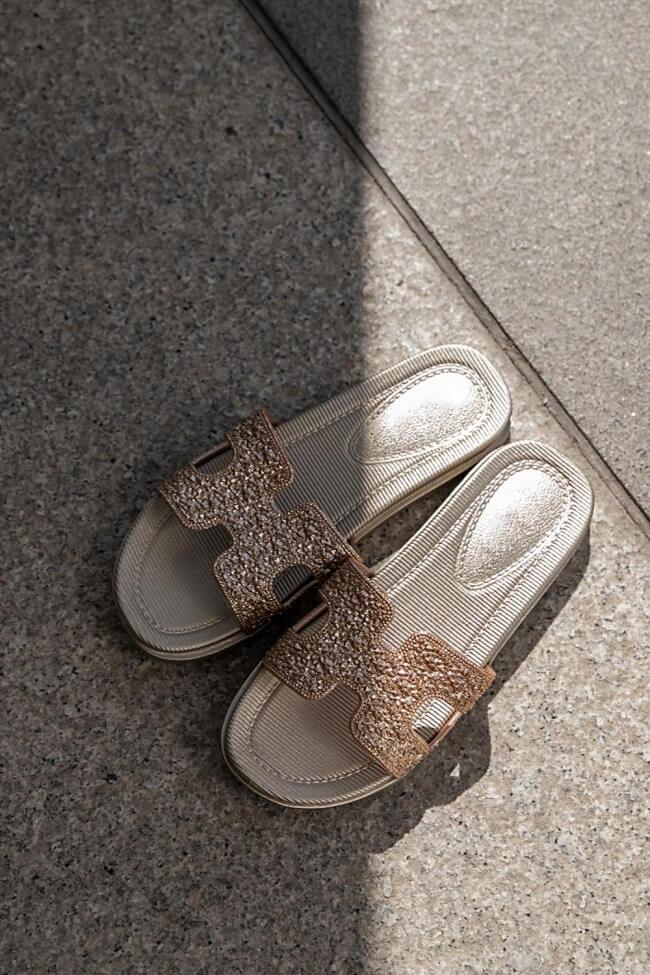Παντόφλες με Glitter
