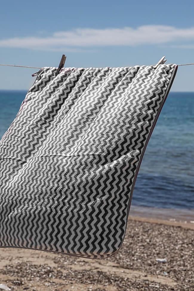 Πετσέτα Fleece Waves