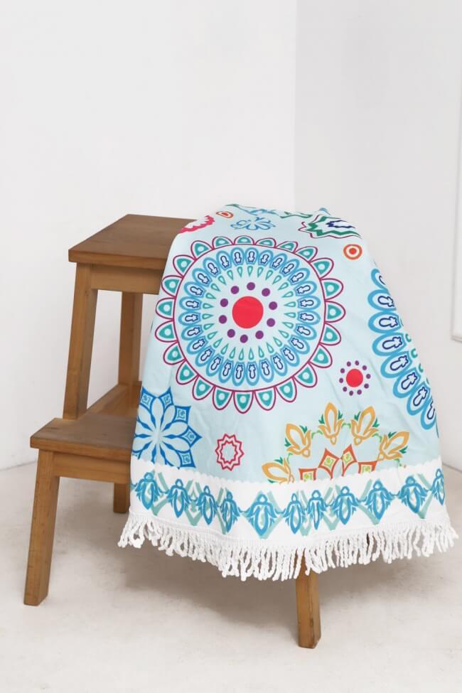 Πετσέτα Θαλάσσης Floral