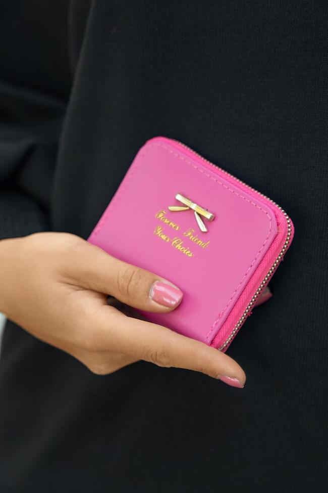 Πορτοφόλι Μικρό με Φιογκάκι
