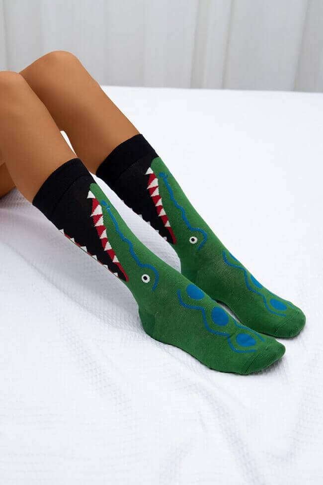 Ψηλές Κάλτσες Crocodile