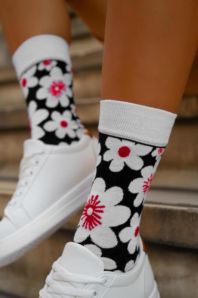 Ψηλές Κάλτσες  Floral