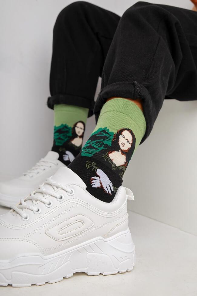 Ψηλές Κάλτσες Μόνα Λίζα