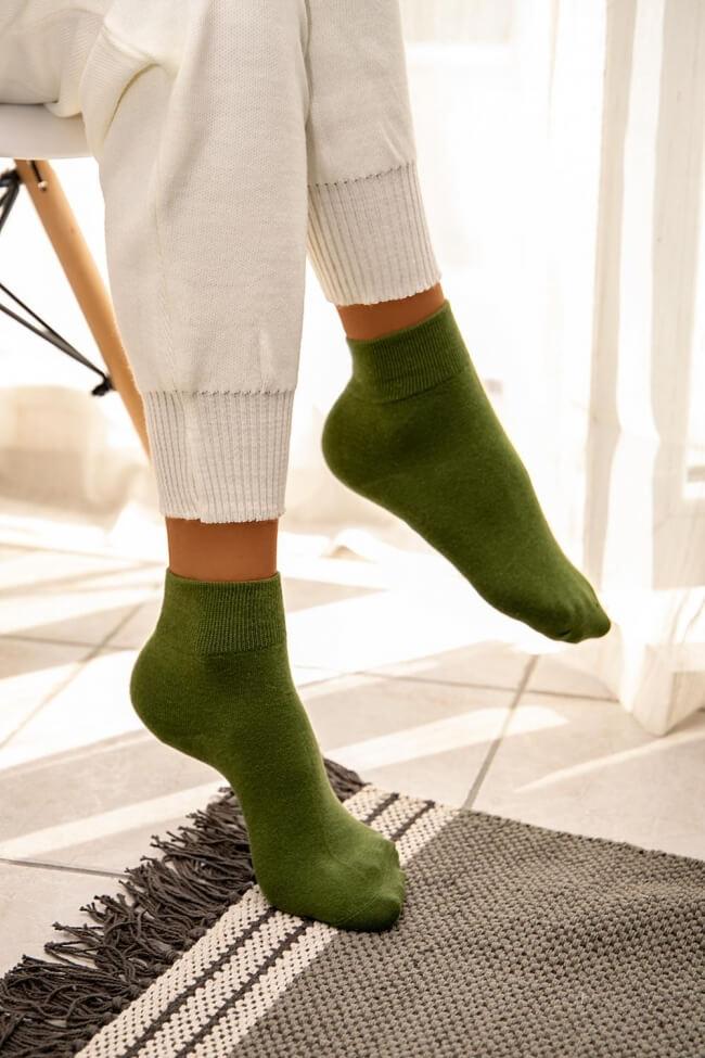 Ψηλές Κάλτσες Μονόχρωμες